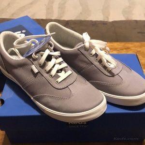 NWT Keds Ortholite Grey Sneakers